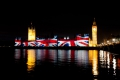 Houses of Parliament Olympic projection